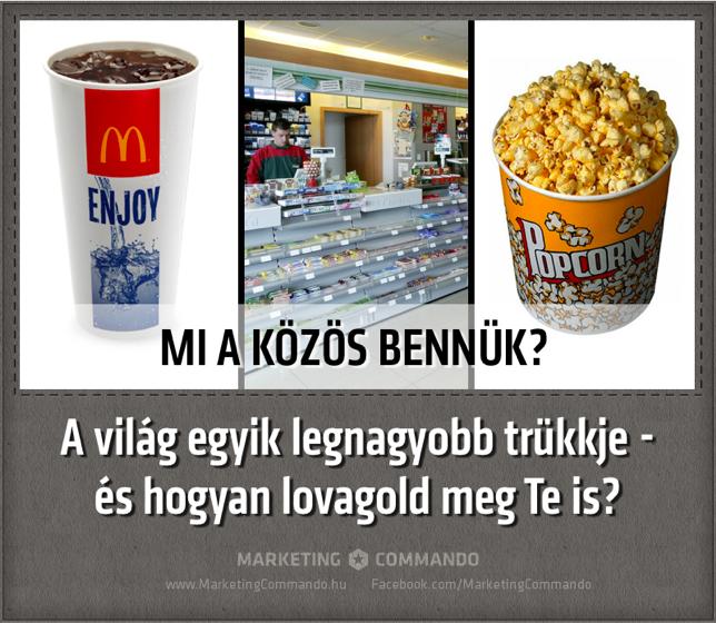 A zseniális popcorn marketing stratégia